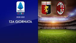 Genoa - Milan. 12a g.