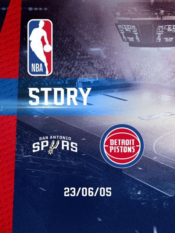NBA: San Antonio - Detroit 23/06/05
