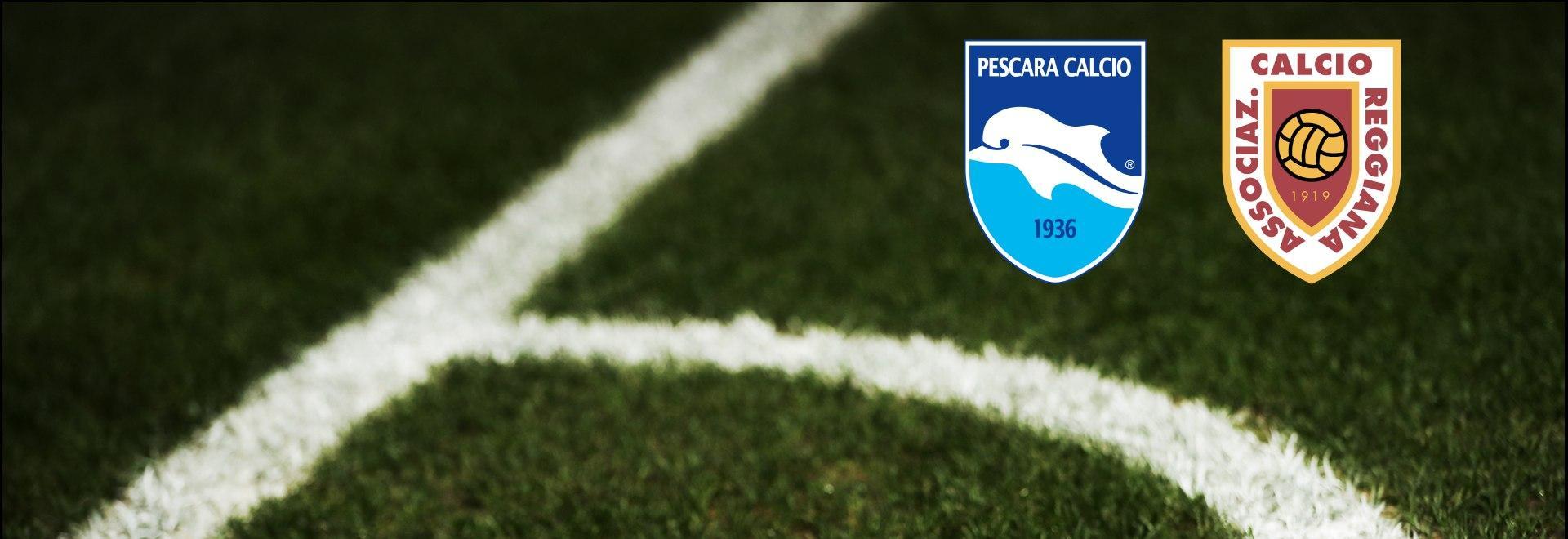 Pescara - Reggiana. 36a g.