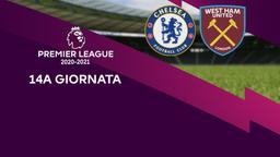 Chelsea - West Ham United. 14a g.