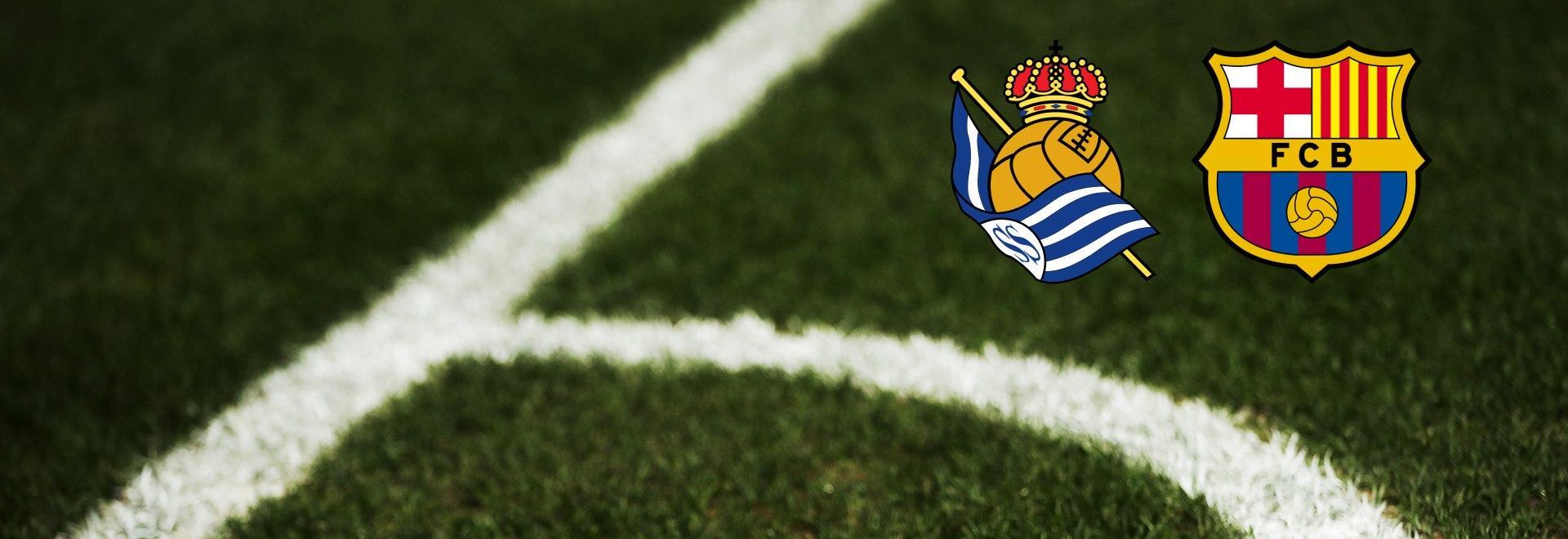 Real Sociedad - Barcellona. 17a g.
