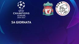 Liverpool - Ajax. 5a g.