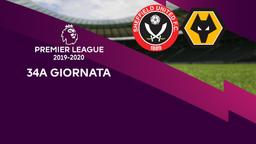 Sheffield United - Wolverhampton. 34a g.