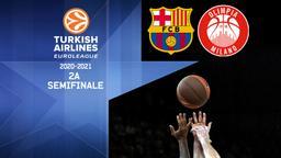Barcellona - Milano. 2a Semifinale