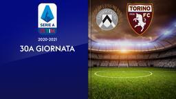 Udinese - Torino. 30a g.