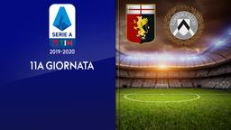 Genoa - Udinese. 11a g.