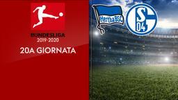Hertha B. - Schalke. 20a g.