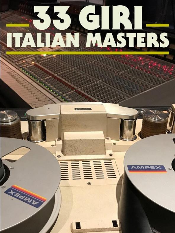 33 giri Italian Masters - Fabrizio De André - Le nuvole