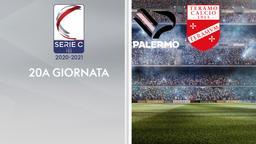 Palermo - Teramo. 20a g.