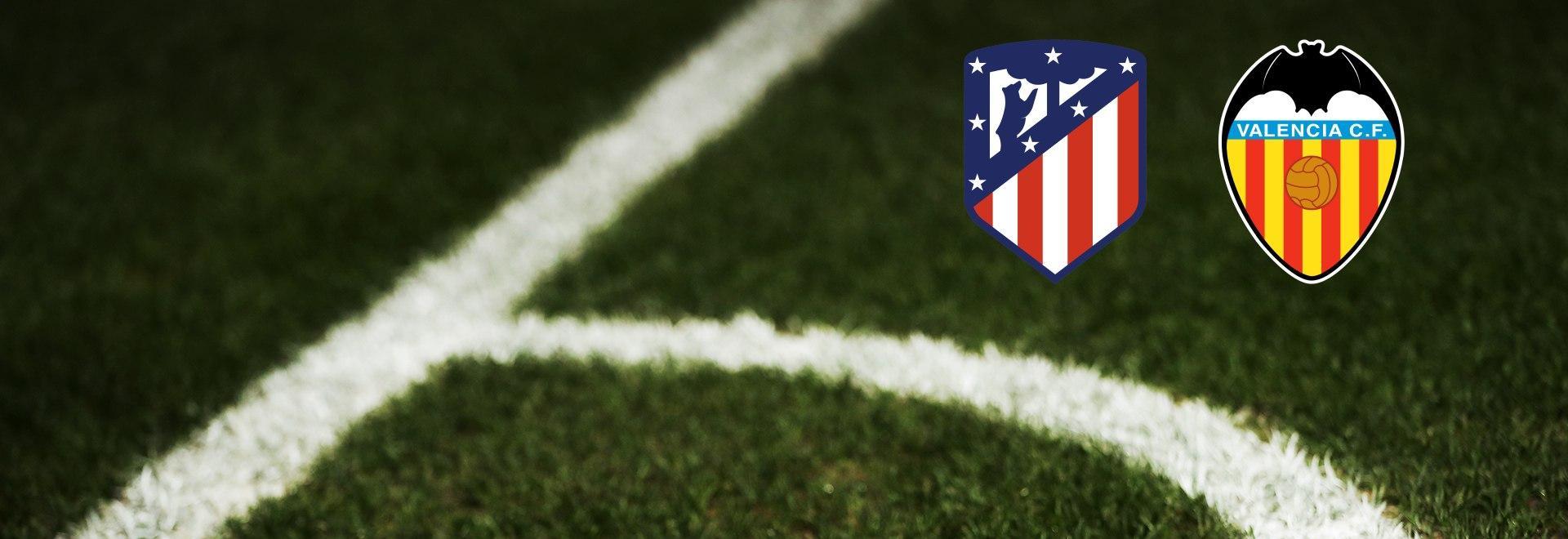 Atletico Madrid - Valencia. 20a g.