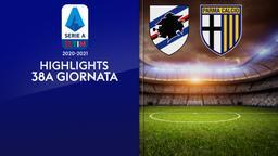 Sampdoria - Parma. 38a g.
