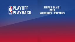 2019: Warriors - Raptors. Finals Game 1