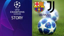 Barcellona - Juventus 22/04/03