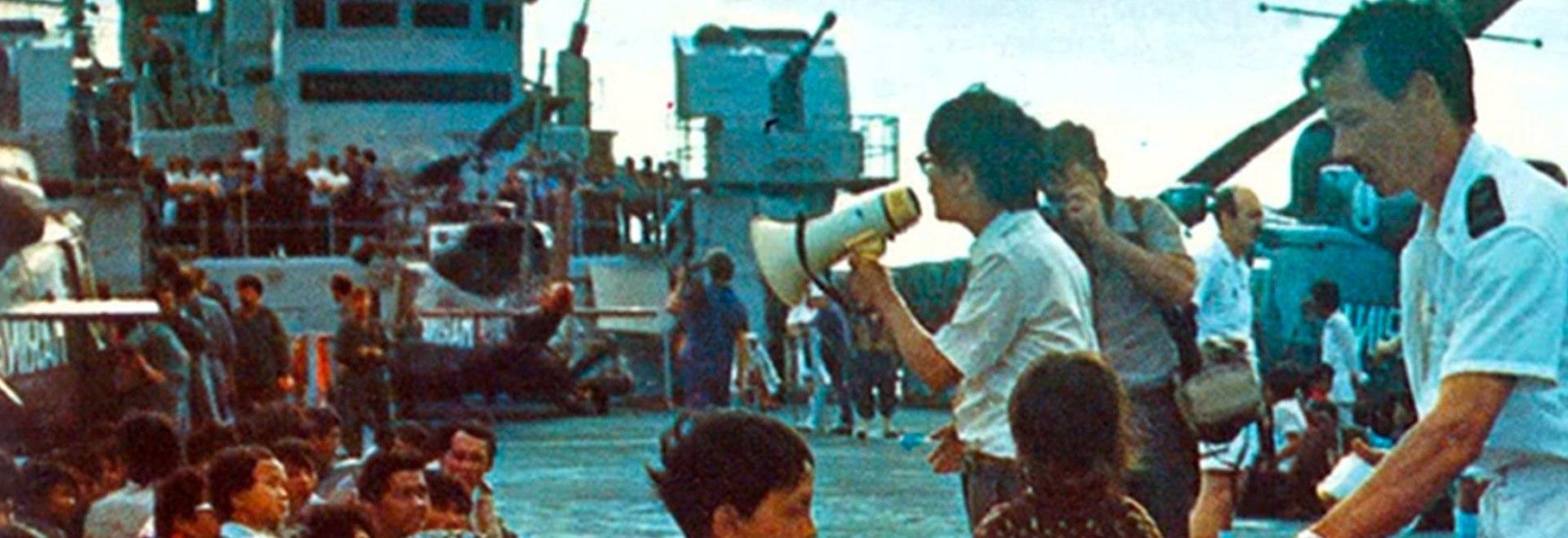 L'Italia delle navi: missione Vietnam