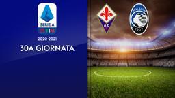 Fiorentina - Atalanta. 30a g.