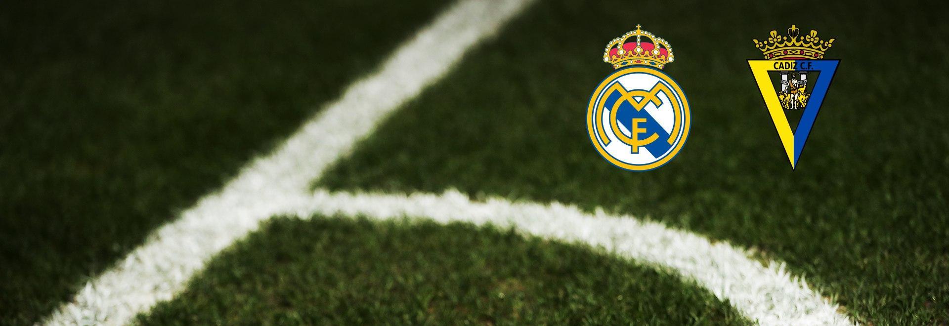 Real Madrid - Cadice. 6a g.