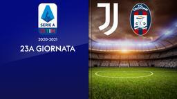 Juventus - Crotone. 23a g.