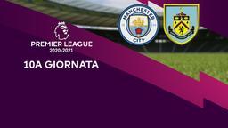 Manchester City - Burnley. 10a g.