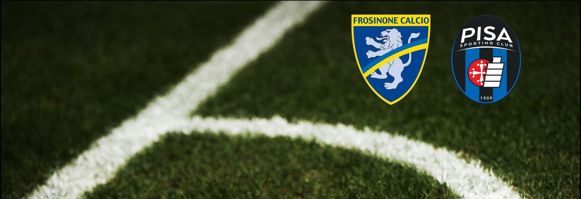 Frosinone - Pisa. 35a g.