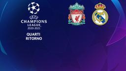 Liverpool - Real Madrid. Quarti Ritorno