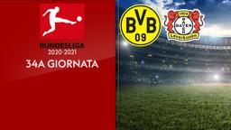 Borussia Dortmund - Bayer Leverkusen. 34a g.