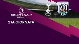 Tottenham - West Bromwich Albion. 23a g.