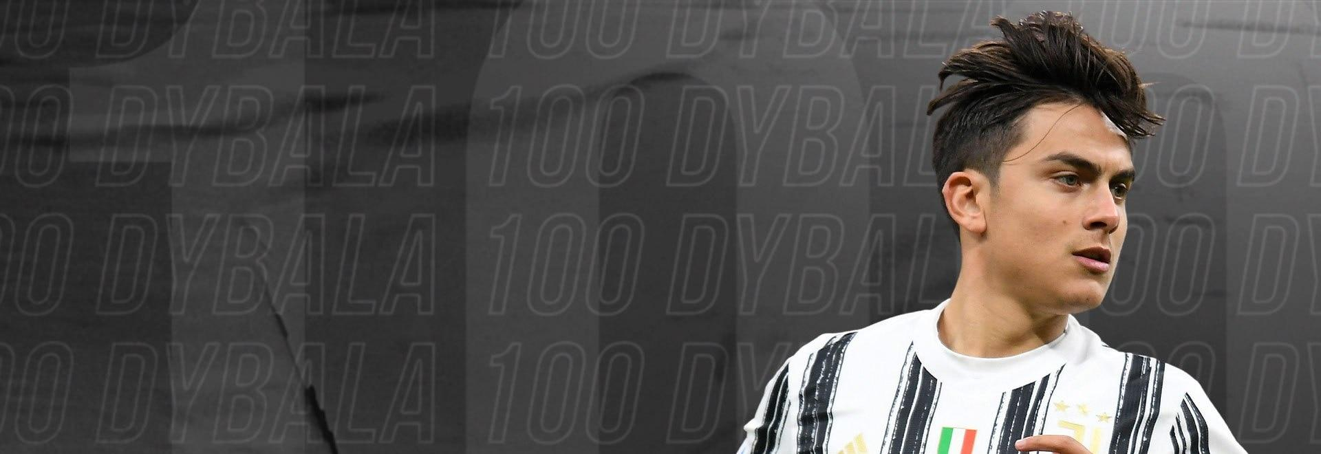Dybala 100 Gol con la Juventus