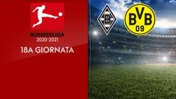 Borussia Moenchengladbach - Borussia Dortmund. 18a g.