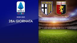 Parma - Genoa. 28a g.