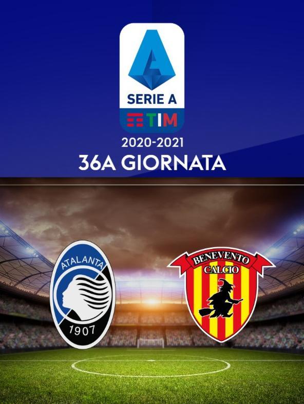 Atalanta - Benevento. 36a g.