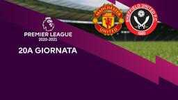 Manchester United - Sheffield United. 20a g.