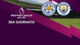 Leicester - Manchester City. 30a g.