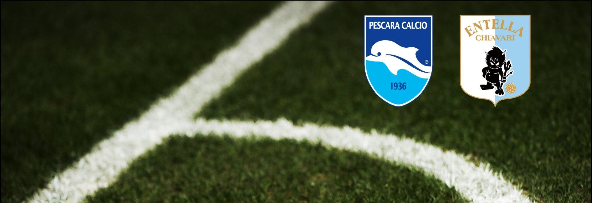 Pescara - Entella. 34a g.
