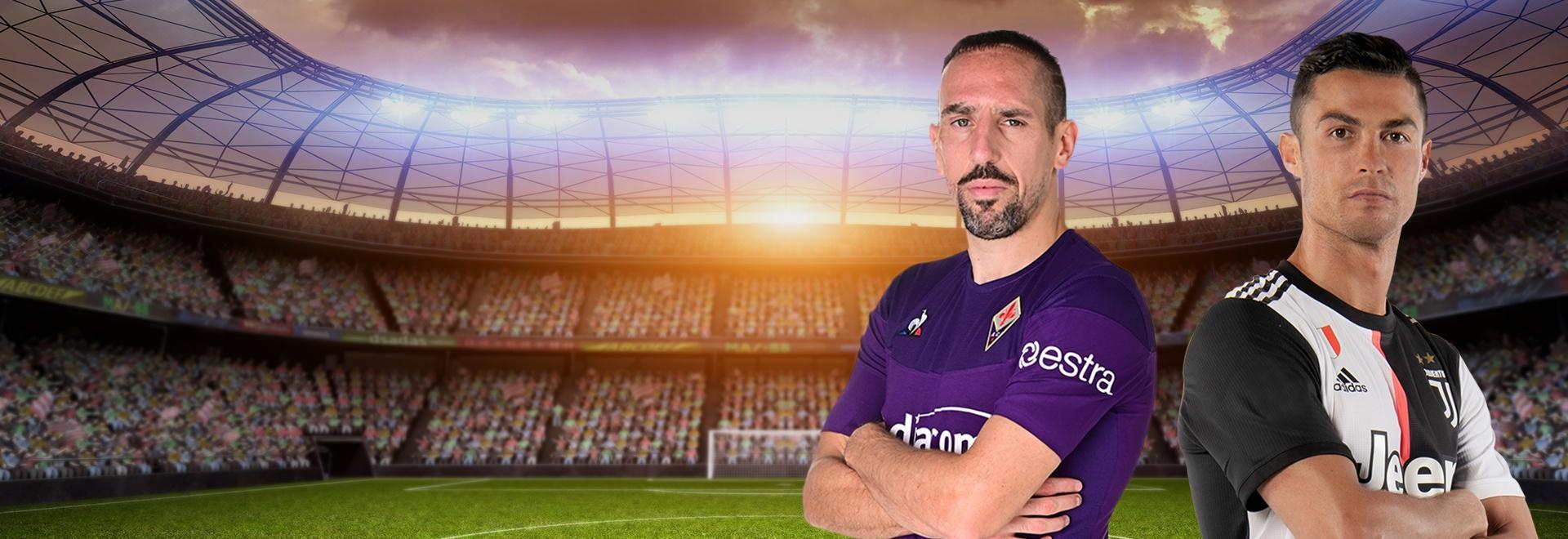 Fiorentina - Juventus. 3a g.
