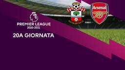 Southampton - Arsenal. 20a g.