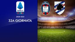Crotone - Sampdoria. 32a g.