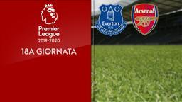 Everton - Arsenal. 18a g.