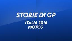 Italia 2016. Moto3