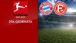 Bayern M. - Fortuna D. 29a g.