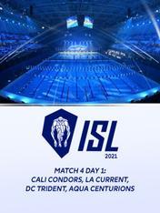 Match 4 Day 1: Cali Condors, LA Current, DC Trident, Aqua Centurions