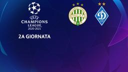 Ferencvaros - Dinamo Kiev. 2a g.