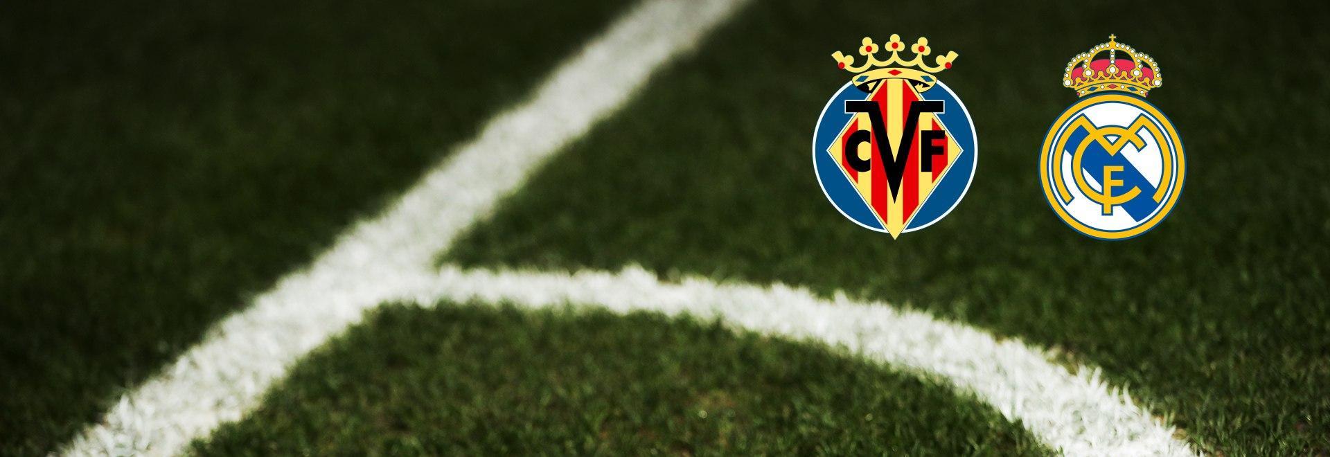 Villarreal - Real Madrid. 10a g.