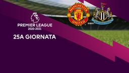 Manchester United - Newcastle. 25a g.
