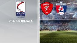 Perugia - Sambenedettese. 28a g.
