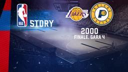 L.A. Lakers - Indianapolis 2000. Finale. Gara 4
