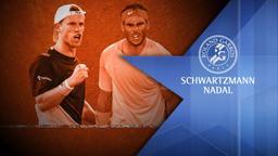Schwartzmann - Nadal