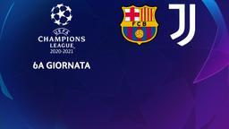 Barcellona - Juventus. 6a g.