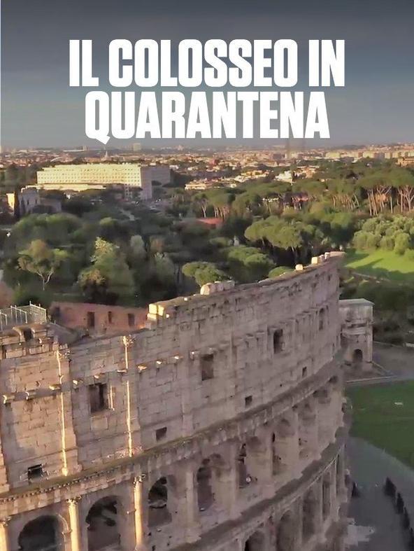 Il Colosseo in quarantena