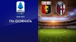 Genoa - Bologna. 17a g.