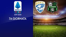 Brescia - Sassuolo. Rec. 7a g.